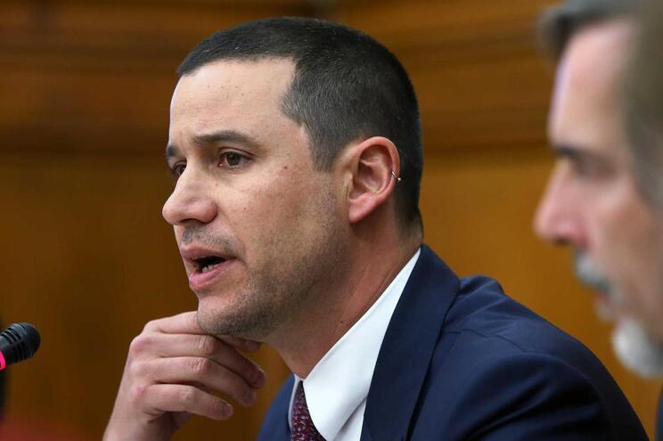 O secretário de Estado da Energia, João Galamba