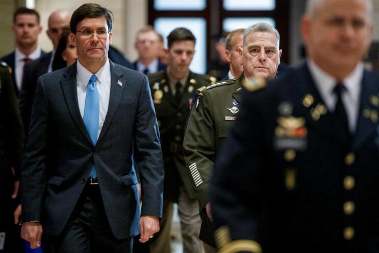 """Secretário da Defesa norte-americano admitiu não ter visto qualquer """"prova"""" concreta"""