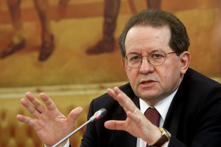 O antigo governador do Banco de Portugal, Vítor Constâncio