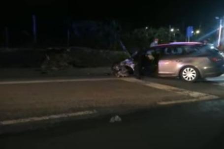 Acidente envolveu uma mota e um automóvel