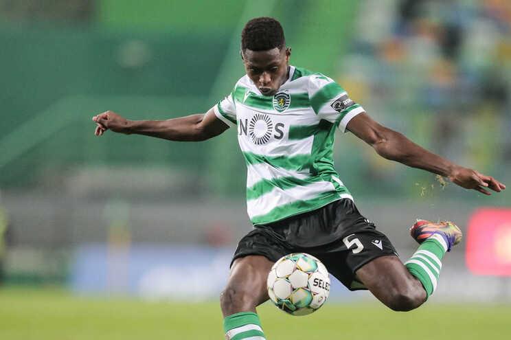 Nuno Mendes, lateral esquerdo do Sporting