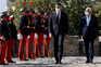 Governo recebido com honras militares no arranque da Cimeira Ibérica