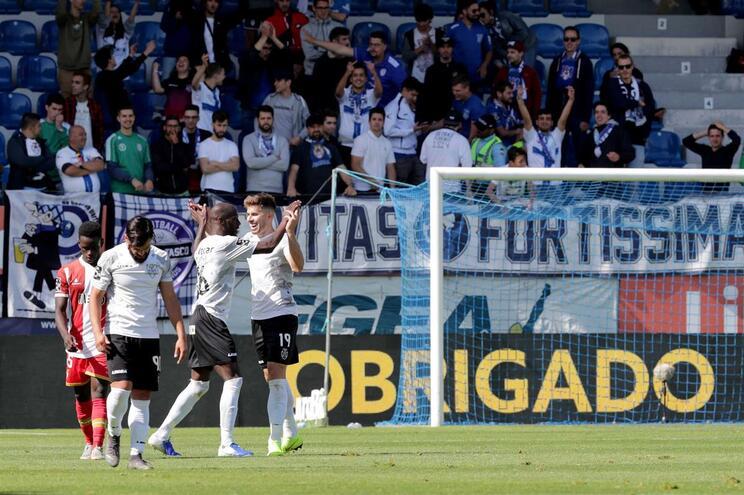 Feirense voltou aos triunfos, após 32 jogos sem ganhar