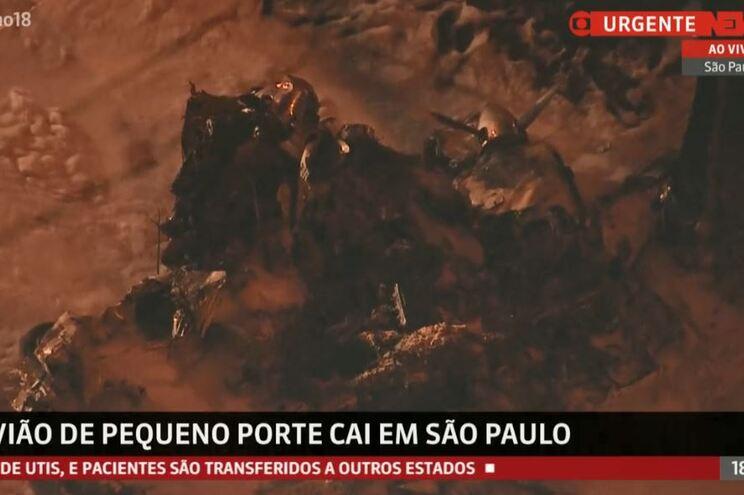 Piloto morre em queda de aeronave em São Paulo