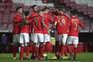 O Benfica defronta o Belenenses SAD esta segunda-feira