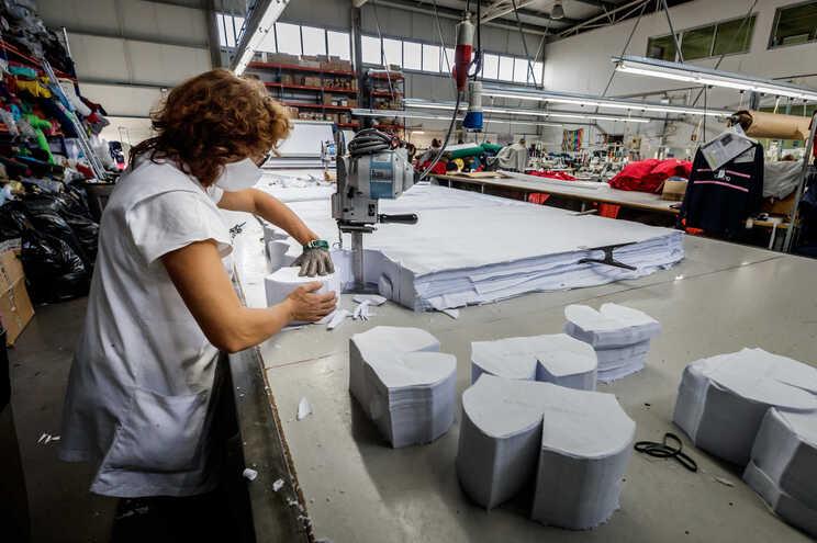 Exportação de máscaras já rendeu 167 milhões de euros