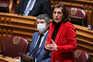 Ana Catarina Mendes, uma das deputadas portugueses, é líder parlamentar do PS