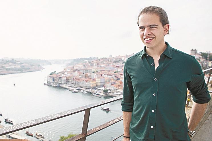 O deputado do PSD Hugo Carvalho