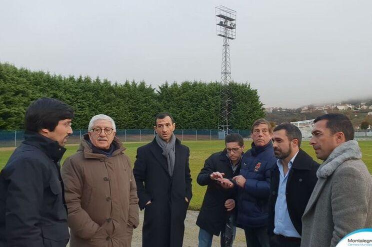 Montalegre faz obras para receber o Benfica