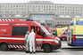 Esta sexta-feira de manhã, cerca de 30 ambulâncias estavam paradas à porta das urgências do Hospital