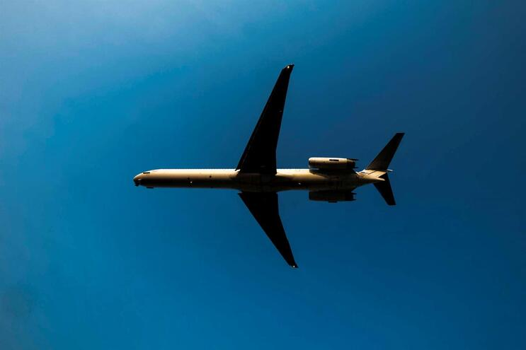 As partículas em causa são emitidas pelos aviões