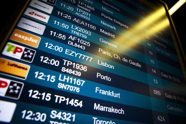 Polícia agredido com pontapé na cara no aeroporto de Lisboa