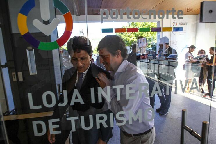 Na imagem,  a Loja Interativa de Turismo de Arouca