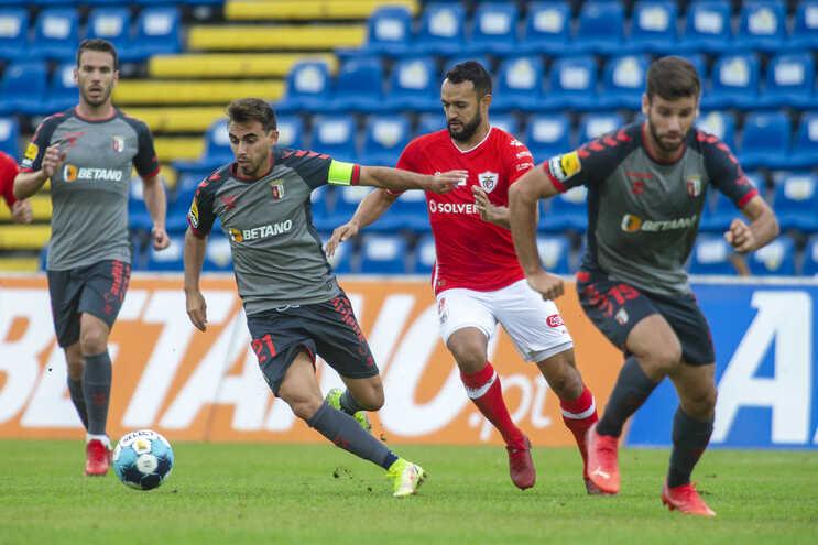 O Braga empatou este domingo