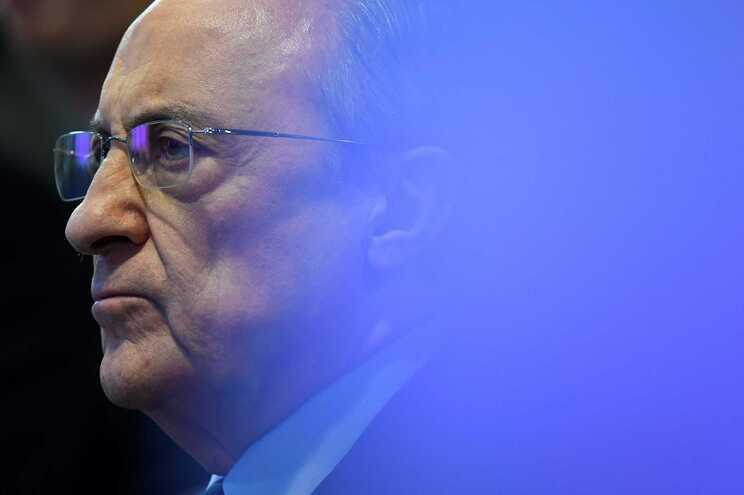 Florentino Pérez, presidente do Real Madrid e da Superliga