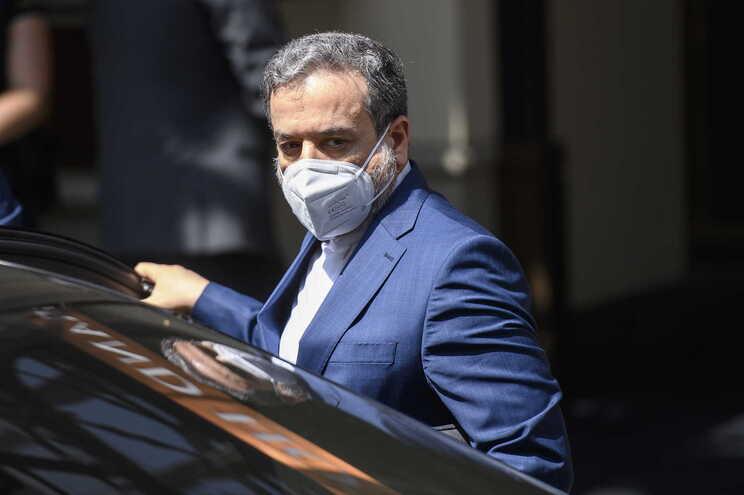 O principal negociador do Irão e vice-ministro dos Negócios Estrangeiros, Abbas Araghchi