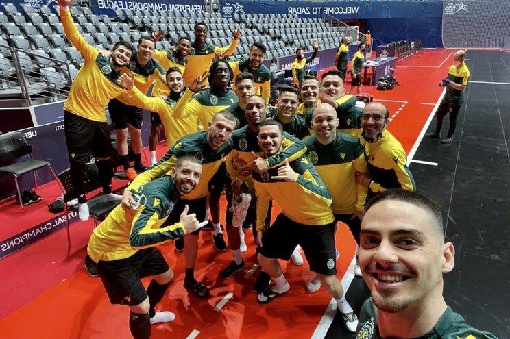 Sporting está nas meias-finais da Liga dos Campeões de futsal