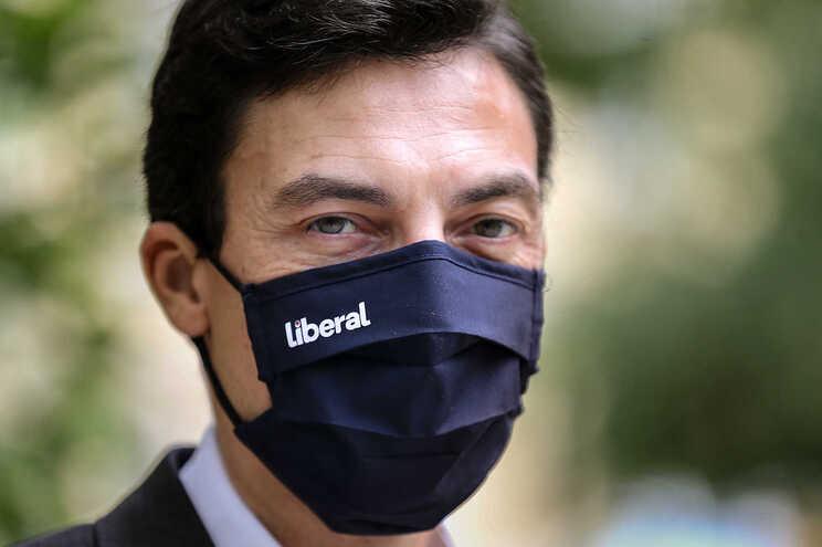 Tiago Mayan Gonçalves, candidato apoiado pelo Iniciativa Liberal à Presidência da República