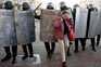 Organização não-governamental identificou pelo menos 80 detenções na capital do país, Minsk