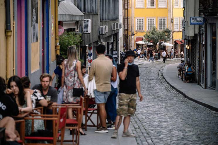 A taxa de incidência no Porto já é superior à de Lisboa