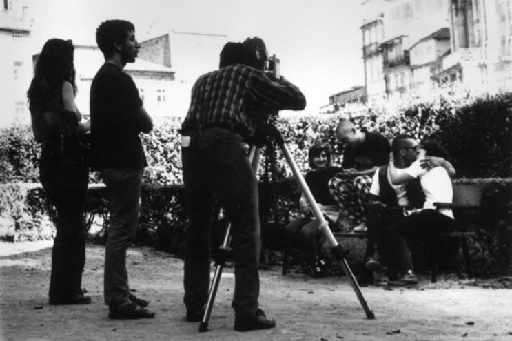 Rodagem no Cineclube do Porto