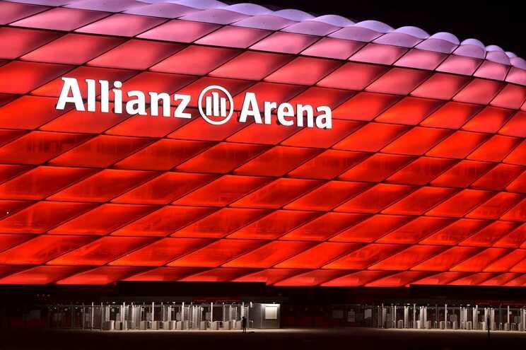 Jogo entre Portugal e Alemanha, no dia 19 de junho, será disputado no estádio Allianz Arena, em Munique