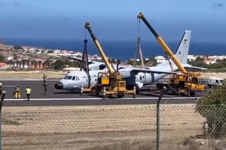 A Força Aérea abriu um inquérito ao incidente