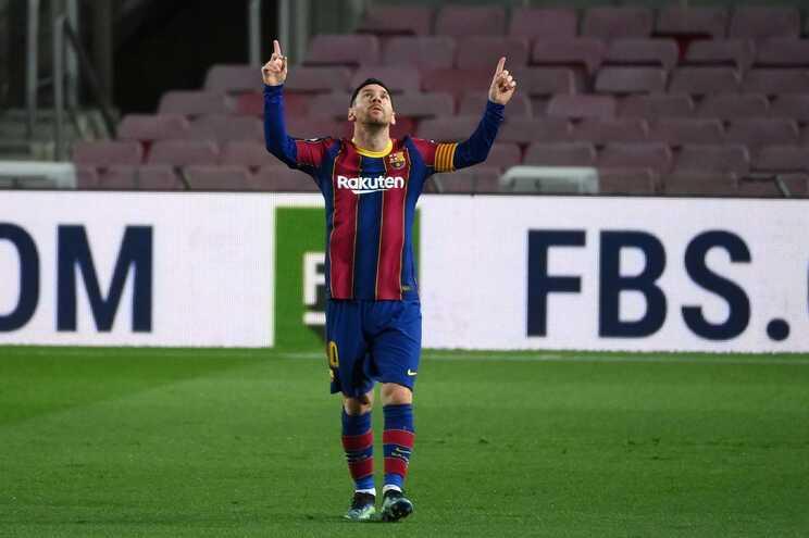 Lionel Messi, jogador do Barcelona