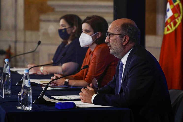 Conferência após a reunião do Conselho de Ministros