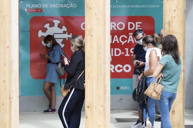 Centro de Vacinação de Covid 19 no Cerco do Porto