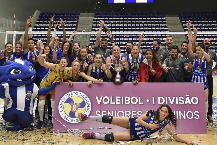 AJM/F. C. Porto assegurou título