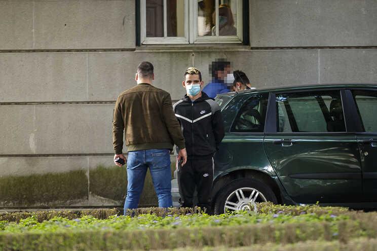 Suspeitos foram levados a tribunal