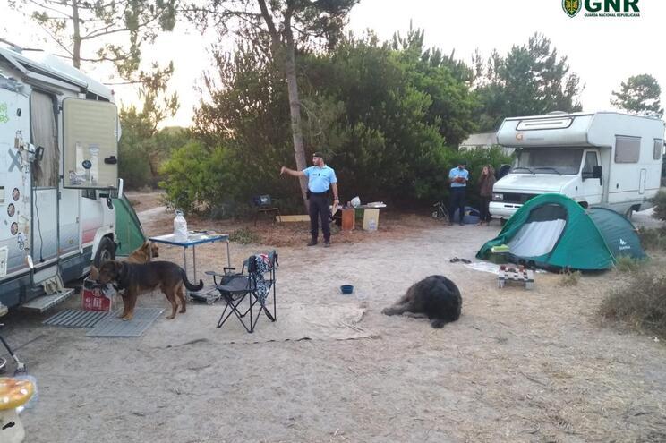 Detetados 29 acampamentos ocasionais ilegais em Grândola