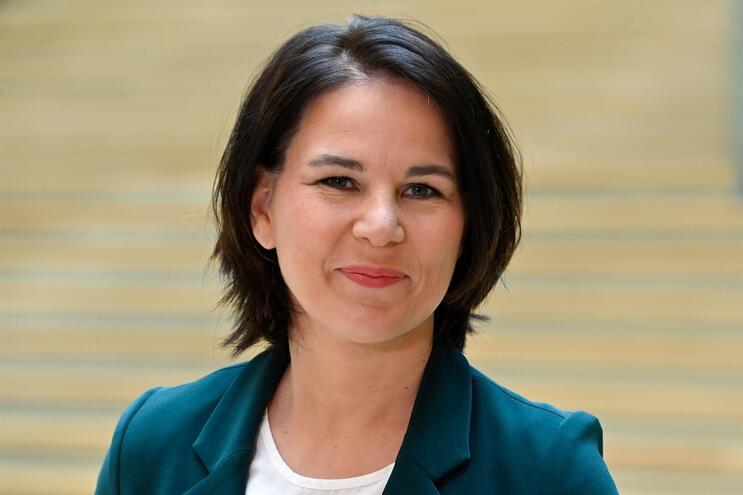 Annalena Baerbock, colíder dos Verdes e candidata a chanceler
