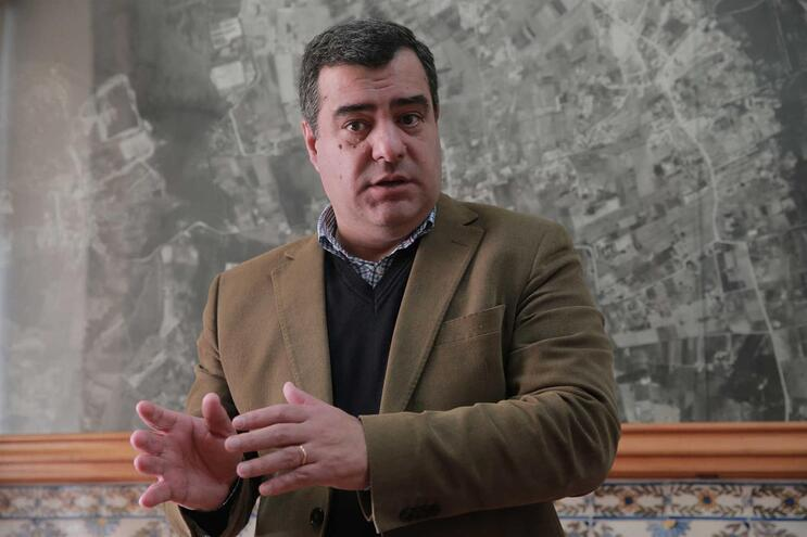 Nuno Canto, presidente do Montijo