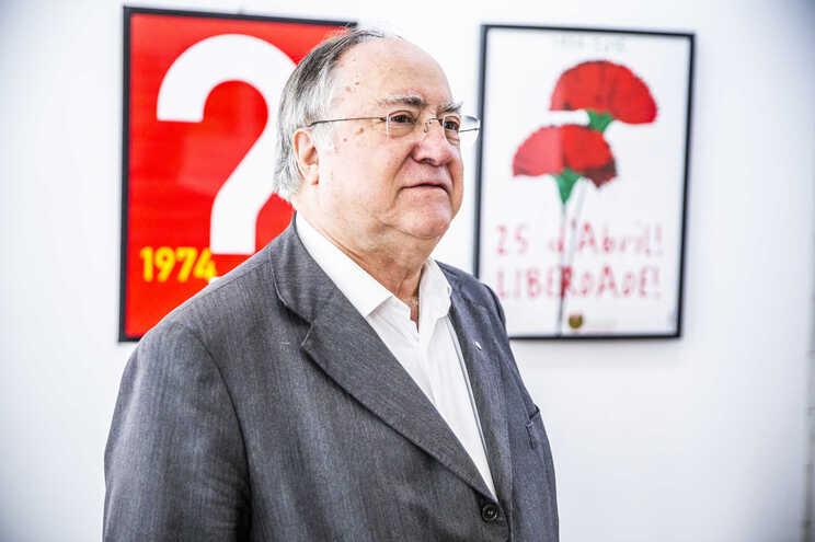 O presidente da Associação 25 de Abril, Vasco Lourenço