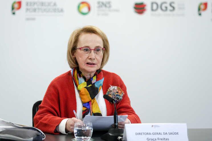Graça Freitas infetada com covid-19, Marta Temido deu negativo