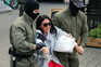 Mulheres na rua contra Lukashenko