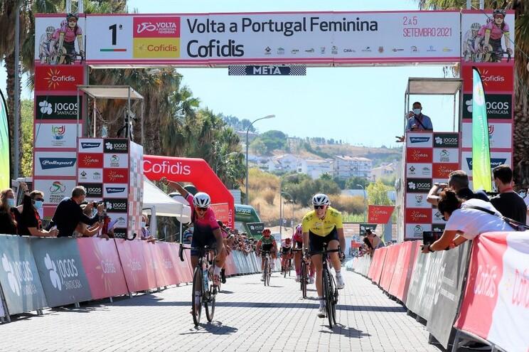 Raquel Queirós venceu a segunda etapa da 1.ª Volta a Portugal Feminina