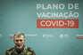 O coordenador da task-force para a vacinação contra a covid-19, Henrique Gouveia e Melo