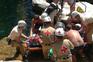 Mulher ferida em queda na cascata do Tahiti, no Gerês