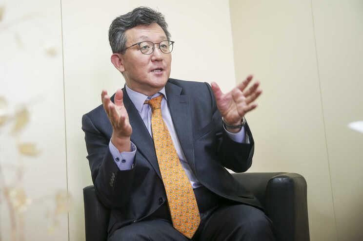 Song Oh, embaixador da Coreia do Sul em Portugal