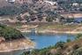 Imagem das buscas na barragem de Santa Clara