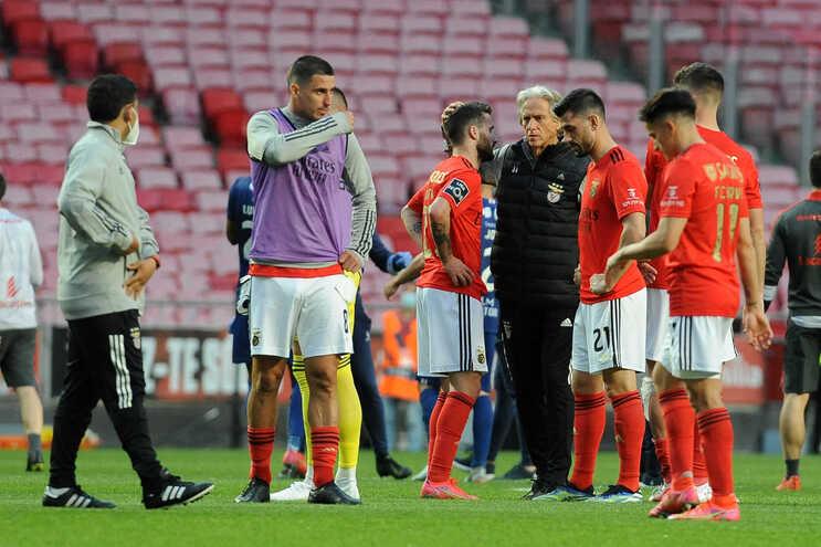 O Benfica perdeu com o Gil Vicente na Luz