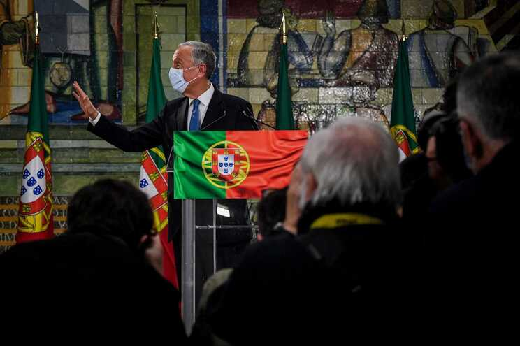 Marcelo Rebelo de Sousa foi reeleito presidente da República