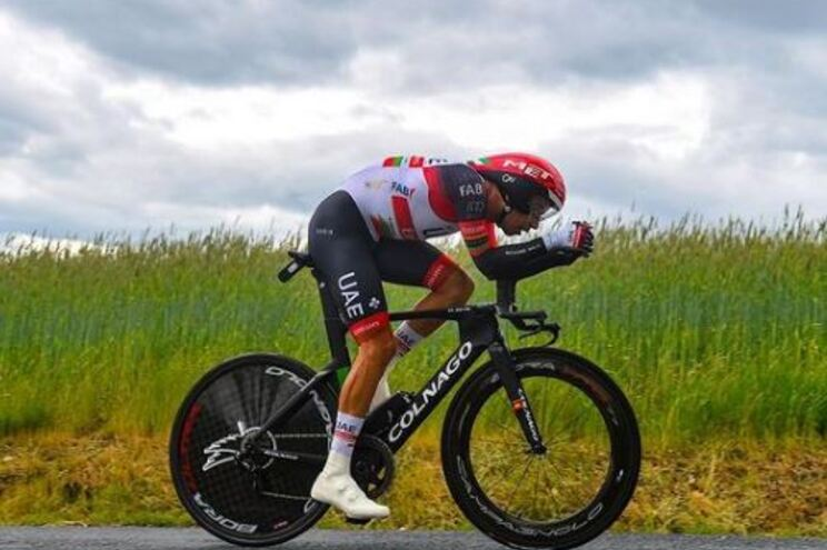 Ciclista Ivo Oliveira