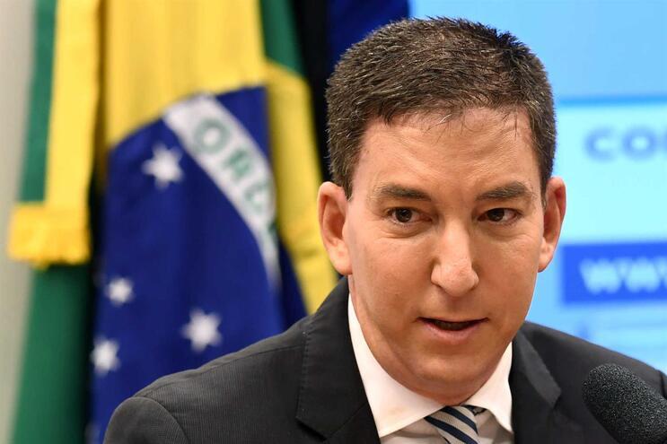 "Glenn Greenwald, autor da investigação jornalística ""Vaza Jato"""