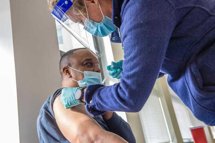 Vacinação contra a covid em Hartford, Connecticut