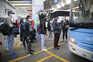 Esta semana, trabalhadores imigrantes faziam fila para embarcar no autocarro 78, que rumou a Odemira
