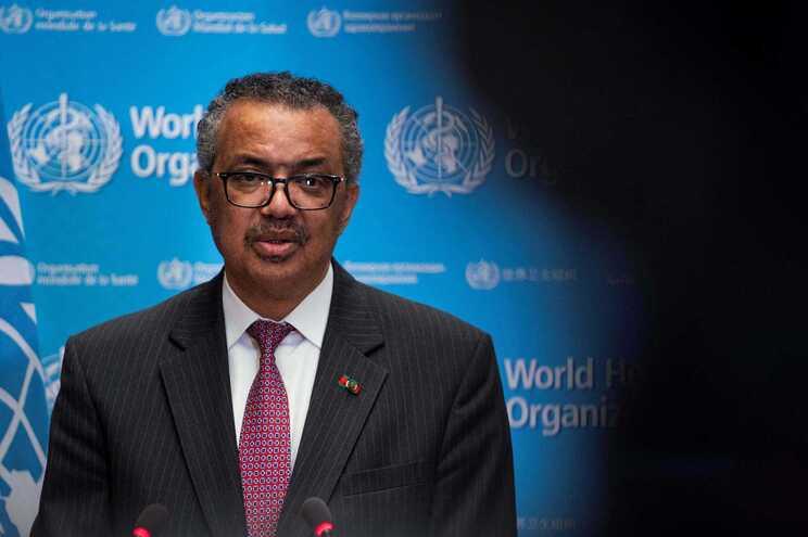 O diretor geral da Organização Mundial da Saúde, Tedros Adhanom Ghebreyesus